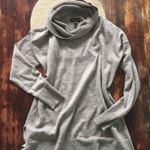 Adrienne Vittadini merino wool cowl neck sweater